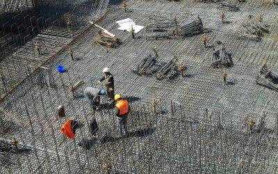 Posadzka betonowa w budynku inwentarskim